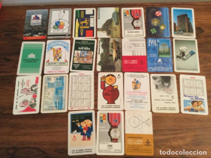 LOTE CALENDARIO FOURNIER PUBLICIDAD. VARIOS AÑOS (Coleccionismo - Calendarios)