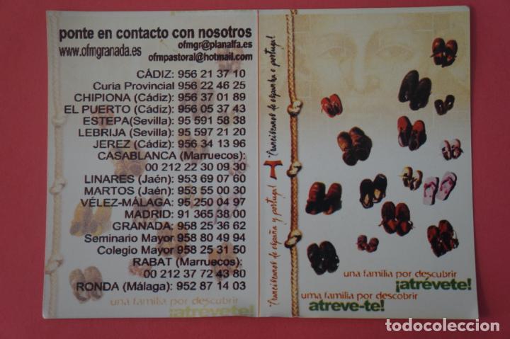 CALENDARIO DE BOLSILLO CON PUBLICIDAD OFM GRANADA AÑO 2006 LOTE 25 MIRAR FOTOS (Coleccionismo - Calendarios)