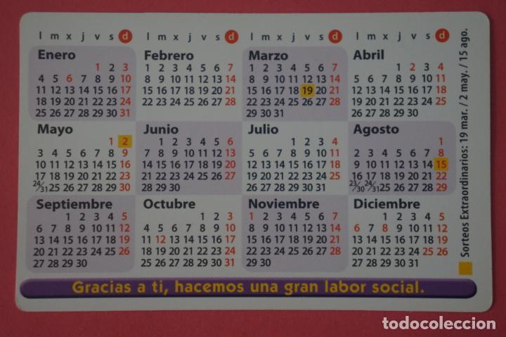 Coleccionismo Calendarios: CALENDARIO DE BOLSILLO CON PUBLICIDAD LOTERIA DE LA ONCE AÑO 2010 LOTE 25 MIRAR FOTOS - Foto 2 - 195373233