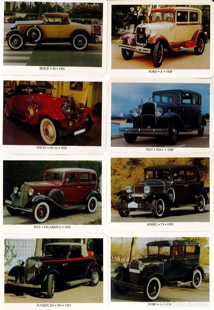 COLECCIÓN DE 24 CALENDARIOS ESPAÑOLES DE COCHES ANTIGUOS - ACCB - AÑO 2005 (Coleccionismo - Calendarios)