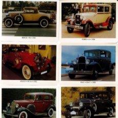 Coleccionismo Calendarios: COLECCIÓN DE 24 CALENDARIOS ESPAÑOLES DE COCHES ANTIGUOS - ACCB - AÑO 2005. Lote 195376902