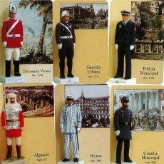 Coleccionismo Calendarios: 18 CALENDARIOS UNIFORMES POLICÍA MUNICIPAL DE MADRID - AÑO 2007 - HISTORIA. Lote 195377840