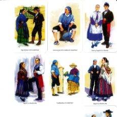 Coleccionismo Calendarios: 7 CALENDARIOS DE TRAJES TIPICOS - AÑO 2010 . Lote 195381787