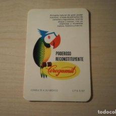 Coleccionismo Calendarios: CALENDARIO BOLSILLO CEREGUMIL (1973). Lote 195386081