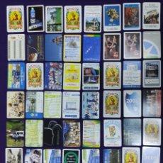 Coleccionismo Calendarios: LOTE DE 54 CALENDARIOS DIFERENTES FOURNIER. DE 1974 A 2019. CALENDARIO.. Lote 195393153