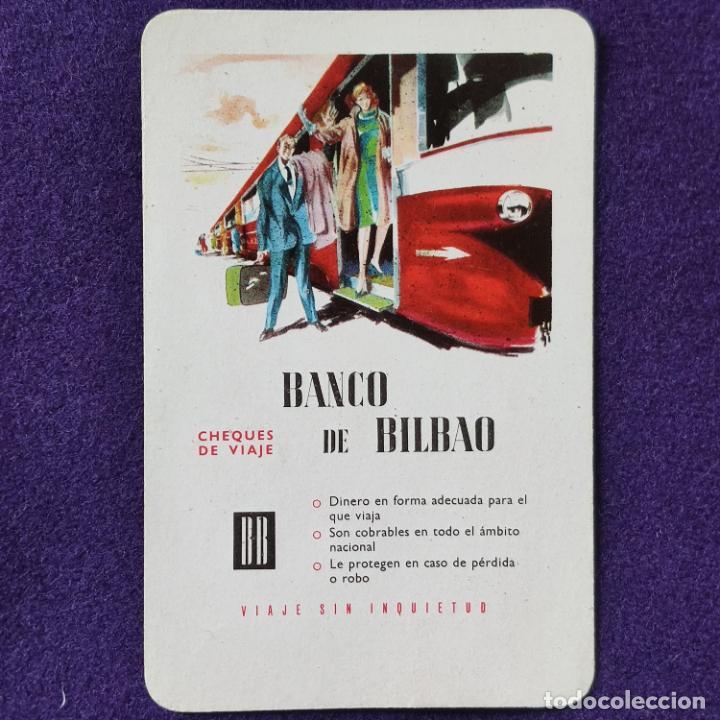 CALENDARIO FOURNIER. BANCO DE BILBAO. 1962 (Coleccionismo - Calendarios)