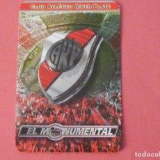 Coleccionismo Calendarios: CALENDARIO DE BOLSILLO FUTBOL RIVER PLATE AÑO 2008 LOTE 1 MIRAR FOTOS. Lote 195393456