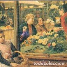Coleccionismo Calendarios: -48309 CALENDARIO PINTURA MUJERES EN EL MERCADO DE FLORES, AÑO 2011, CON PUBLICIDAD, EDIJAR Nº 39. Lote 195411072