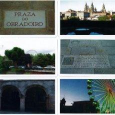 Coleccionismo Calendarios: 8 CALENDARIOS DE SANTIAGO DE COMPOSTELA DEL AÑO 2009 DE NAIPES COMAS. Lote 195449271