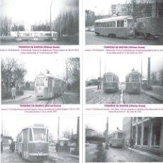 Coleccionismo Calendarios: 8 CALENDARIOS TRANVIAS DE MADRID, AÑO 2005, EMISION PARTICULAR, PRECIOSAS FOTOGRAFIAS. Lote 195449486