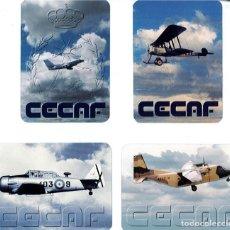 Coleccionismo Calendarios: 4 CALENDARIOS MILITAR DEL EJÉRCITO DEL AIRE-CENTRO CARTOGRÁFICO Y FOTOGRÁFICO AÑO 2007.. Lote 195450068