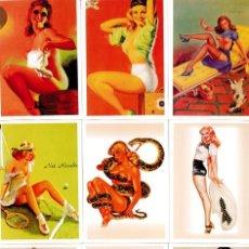 Coleccionismo Calendarios: SERIE DE 9 CALENDARIOS CHICAS PIN-UP -AÑO 2013. Lote 195450852