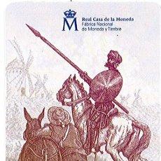 Coleccionismo Calendarios: CALENDARIO DE FABRICA NACIONAL DE MONEDA Y TIMBRE - FNMT - F.N.M.T. - AÑO 2016. Lote 195466498