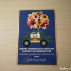 Coleccionismo Calendarios: CALENDARIO BOLSILLO PLASTIFICADO CEPSA (1970). Lote 195466503