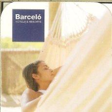 Coleccionismo Calendarios: CALENDARIO PUBLICITARIO - 2004 - BARCELÓ HOTELS & RESORTS. Lote 195484628