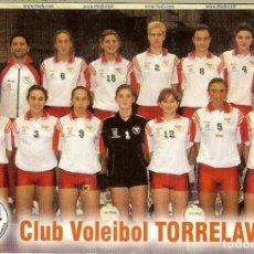 Coleccionismo Calendarios: CALENDARIO DE BOLSILLO - 2004 - CLUB VOLEIBOL TORRELAVEGA. Lote 195512686