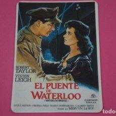 Coleccionismo Calendarios: CALENDARIO DE BOLSILLO DE EL PUENTE DE WATERLOO AÑO 1989 LOTE 26. Lote 195520857