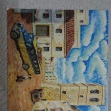 Coleccionismo Calendarios: CALENDARIO EXPOSICIÓN DE PINTURAS AYUNTAMIENTO DE VINAROS AÑO 2009 . Lote 195544336