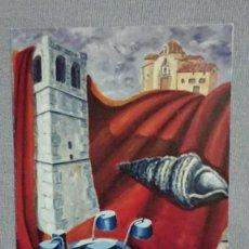 Coleccionismo Calendarios: CALENDARIO EXPOSICIÓN DE PINTURAS AYUNTAMIENTO DE VINAROS AÑO 2009. Lote 195544413