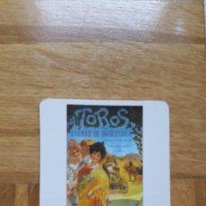 Coleccionismo Calendarios: CALENDARIO TOROS. TAUROMAQUIA. ARENAS DE BARCELONA. CARTEL. AÑO 1986. VER FOTO ADICIONAL. Lote 195544665
