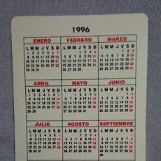 Coleccionismo Calendarios: CALENDARIO FEDERACIÓN DE DONANTES DE SANGRE DE CASTILLA Y LEÓN AÑO 1996. Lote 195544840