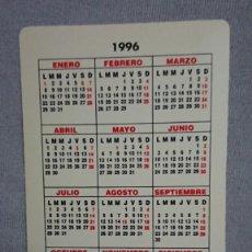 Coleccionismo Calendarios: CALENDARIO FEDERACIÓN DE DONANTES DE SANGRE DE CASTILLA Y LEÓN AÑO 1996. Lote 195544897