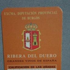 Coleccionismo Calendarios: CALENDARIO DIPUTACION PROVINCIAL DE BURGOS AÑO 2005. Lote 195549620