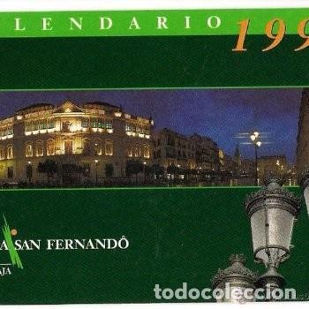 -59600 CALENDARIO CAJA SAN FERNANDO, AÑO 1998, LA CAJA, PRECIOSA FOTOGRAFIA (Coleccionismo - Calendarios)