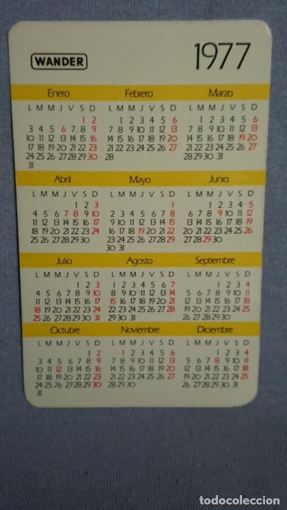 Coleccionismo Calendarios: CALENDARIO PUBLICIDAD MEDICAMENTO MOSEGOR DESPIERTA EL APETITO AÑO 1977 - Foto 2 - 195549766
