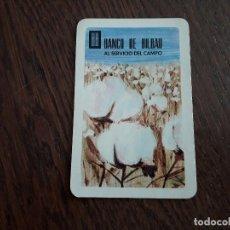 Coleccionismo Calendarios: CALENDARIO DE PUBLICIDAD DE FOURNIER, BANCO DE BILBAO AÑO 1968. Lote 195795515