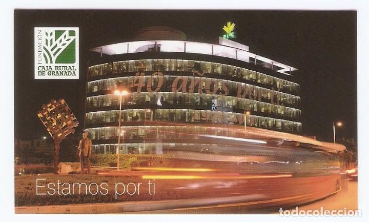 CALENDARIO DE BOLSILLO AÑO 2011 BANCOS / CAJAS DE AHORROS - CAJA RURAL DE GRANADA - FUNDACIÓN (Coleccionismo - Calendarios)