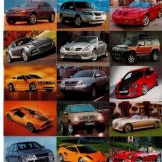 Coleccionismo Calendarios: 26 CALENDARIOS DE COCHES - AÑO 2007 SON EXTRANJEROS. Lote 196055870