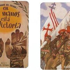 Coleccionismo Calendarios: GUERRA CIVIL-LOTE DE 17 CALENDARIOS REPRODUCCION DE LOS CARTELES ORIGI MUY BUEN ESTADOLEER VER FOTOS. Lote 196343990