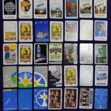 Coleccionismo Calendarios: LOTE DE 116 CALENDARIOS DIFERENTES FOURNIER. DE 1974 A 2020. CALENDARIO.. Lote 196512250