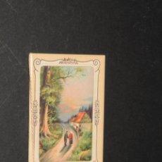 Coleccionismo Calendarios: CALENDARIO - ALMANAQUE - PUBLICIDAD CHOCOLATES AMATLLER (AÑO 1915). Lote 196793060
