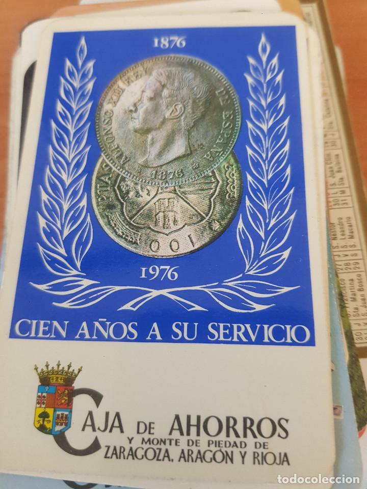 CAJA DE AHORROS MONTE DE PIEDAD ZARAGOZA ARAGON Y RIOJA 1976 (Coleccionismo - Calendarios)