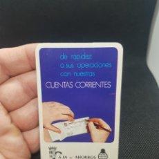 Coleccionismo Calendarios: CALENDARIO DE BOLSILLO CAJA DE AHORROS Y MONTE DE PIEDAD DE ZARAGOZA ARAGÓN Y RIOJA 1973. Lote 236653145