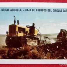 Coleccionismo Calendarios: CALENDARIO FOURNIER. OBRA SOCIAL AGRICOLA. BURGOS. AÑO: 1962. MUY BUEN ESTADO.. Lote 197763435