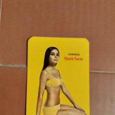 Coleccionismo Calendarios: CALENDARIO CERVEZA STARK TURIA AÑO 1969. Lote 198131976