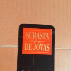 Coleccionismo Calendarios: CALENDARIO BANCAJA SUBASTA DE JOYAS AÑO 1992. Lote 198135036
