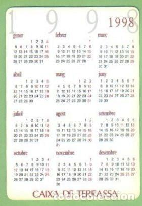 Coleccionismo Calendarios: CALENDARIO 1998. CAIXA DE TERRASSA. BARCELONA. MONTANYA PEDRAFORCA. SERRA DEL CADÍ. VER FOTOS - Foto 2 - 47431655