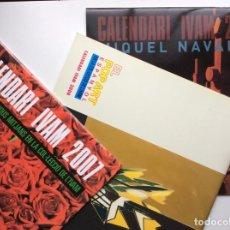 Coleccionismo Calendarios: ENVÍO 8€. 3 CALENDARIOS IVAM 2007 INSTALACIONES, 2008 POP ART Y 2006 MIQUEL NAVARRO. NUEVOS 30X30CM. Lote 239411705