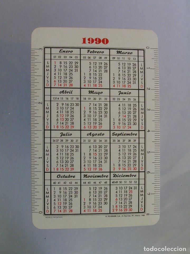 Coleccionismo Calendarios: FOURNIER - LOTERIAS 1990 - Foto 2 - 198282067