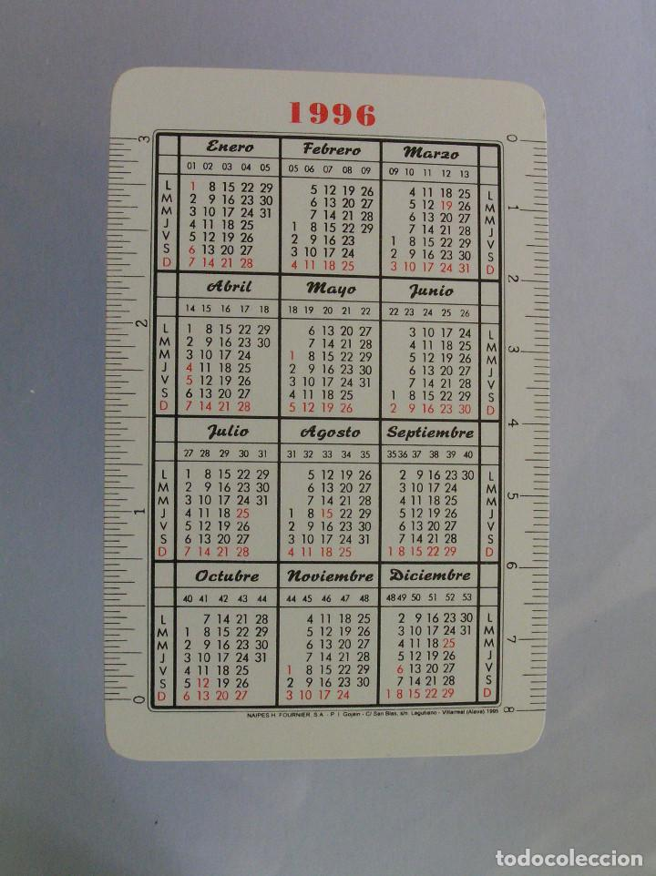 Coleccionismo Calendarios: FOURNIER - BBV 1996 - Foto 2 - 198282132