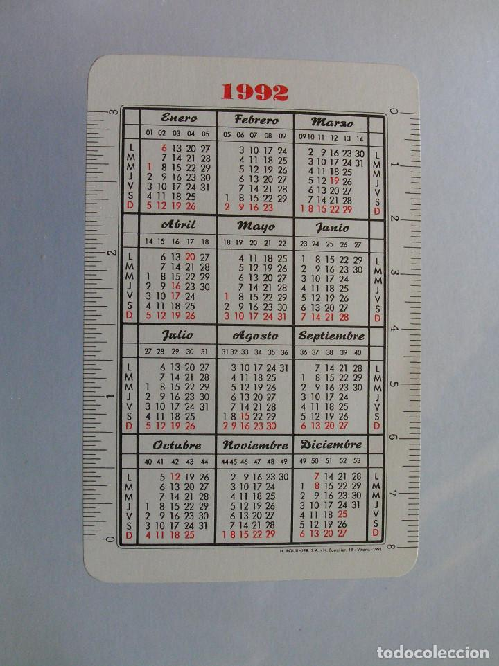 Coleccionismo Calendarios: FOURNIER - EL DIARIO VASCO 1992 - Foto 2 - 198282311