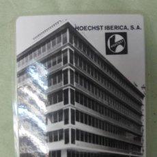 Coleccionismo Calendarios: HOECHST IBERICA CALENDARIO PUBLICITARIO AÑO 1965. PLASTIFICADO. BUEN ESTADO . Lote 198392966
