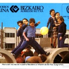 Coleccionismo Calendarios: CALENDARIO FOURNIER CAJA DE AHORROS VIZCAINA AÑO 1979. Lote 198420203