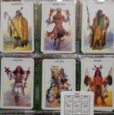 Coleccionismo Calendarios: SERIE 9 CALENDARIOS TRIBUS INDIAS 2007. Lote 198530503