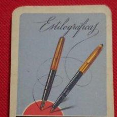 Coleccionismo Calendarios: CALENDARIO FOURNIER ESTILOGRAFICAS AÑO 1965. Lote 198576100