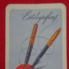 Coleccionismo Calendarios: CALENDARIO FOURNIER ESTILOGRAFICAS AÑO 1963. Lote 198576200